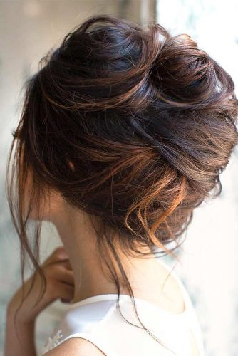 Messy but Easy Updos for Long Hair picture1