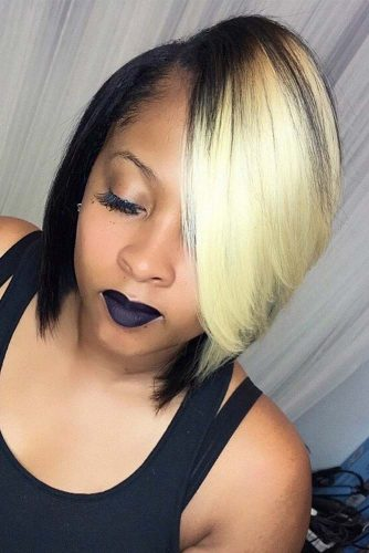 Two-Toned Bob Haircut