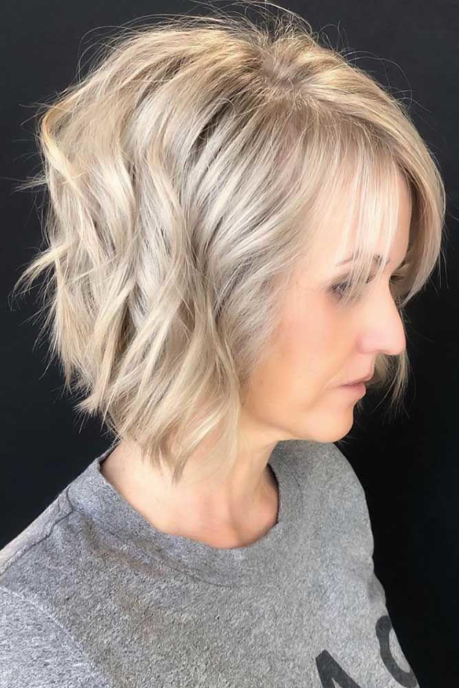 Short Bob Haircuts Inverted #shorthaircuts #haircutsforolderwomen