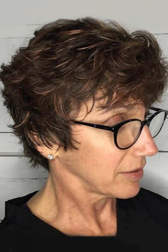 Multi Layered Short Haircut