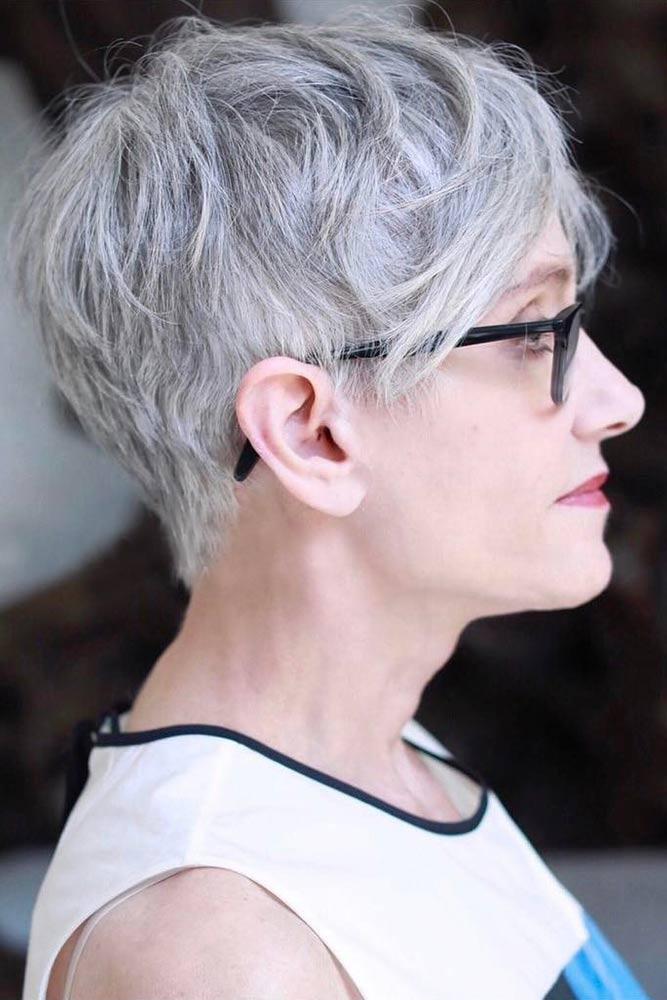 Elegant Short Haircuts for Women Over 50
