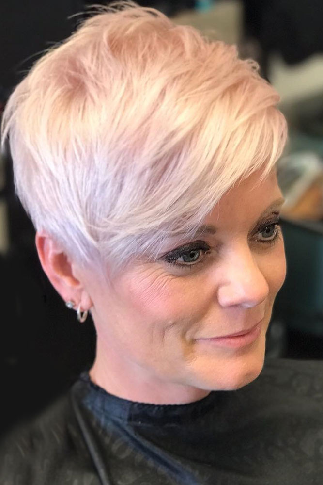 Pearly Pink Platinum Blonde