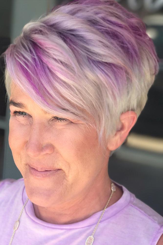 Favorite Pink Shades On Blonde Hair