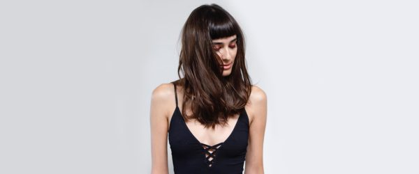 18 New Ways to Style Your Long Bob Haircut With Bangs This Fall