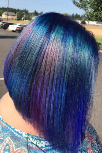 Colorfull A Line Haircuts picture 6