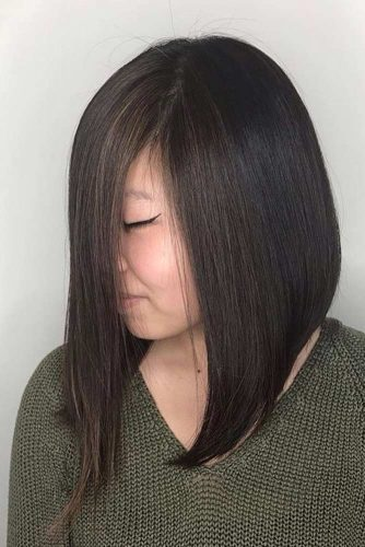 Sleek A Line Haircuts picture1