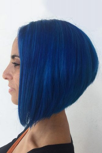 Colorfull A Line Haircuts picture 1