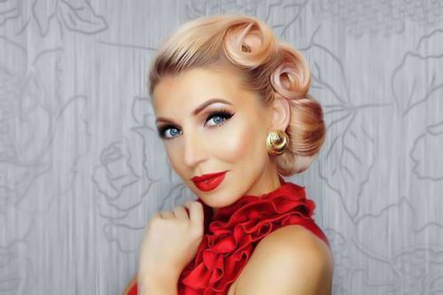 Elegant and Cute Hair Styles for Hot Date