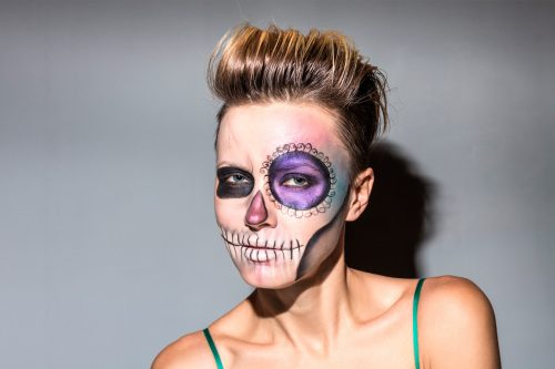 Funky and Crazy Halloween Hairstyles for Short Hair