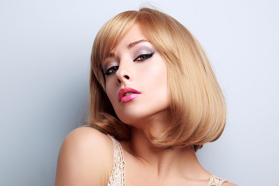 Modern Ways To Style A Bob With Bangs