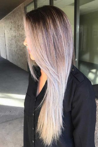 Brown with Blonde Balayage picture2