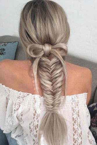 Different Ways to Look Special with a Fishtail Braid picture2