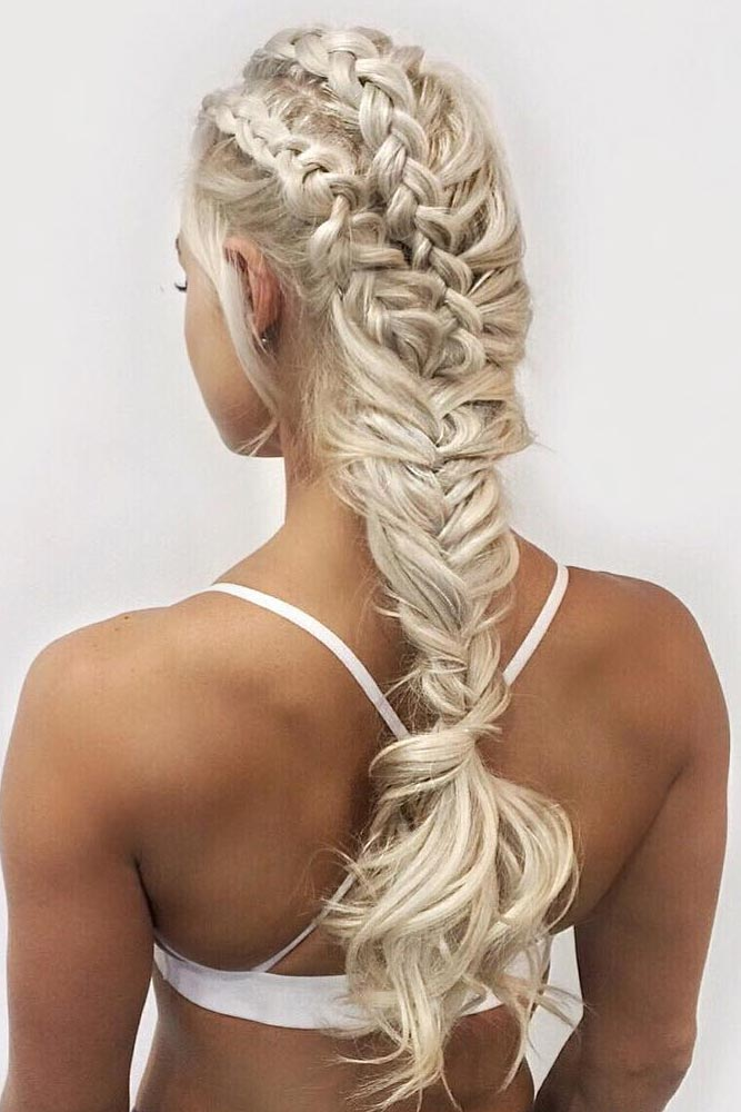 Different Ways To Look Special With Fishtail Braided Hairstyles For Long Hair