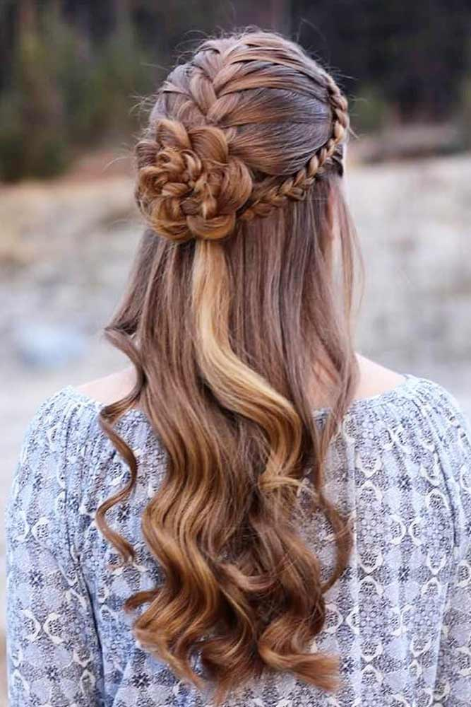 Magical Transformation - Braids Into Flowers
