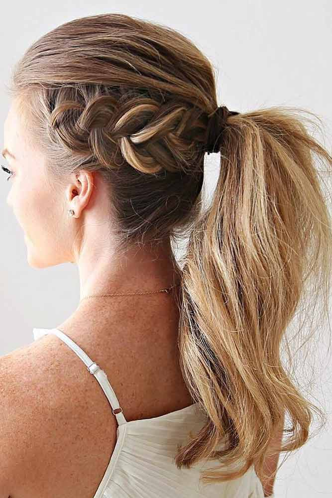 Attractive Combo With Ponytails