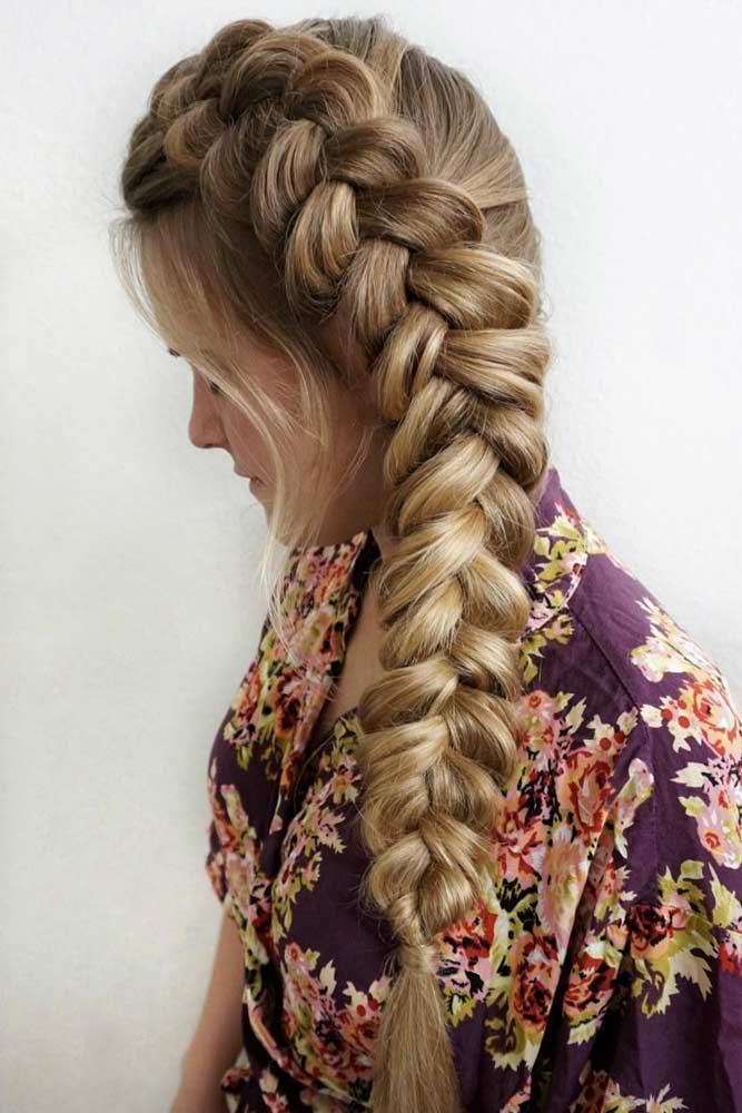 Everyday Ideas With A Dutch Braid