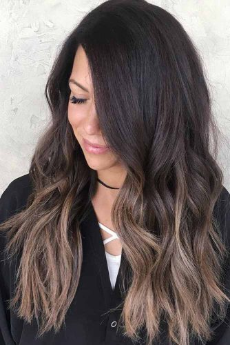 Dark Ombre on Brunette Hair