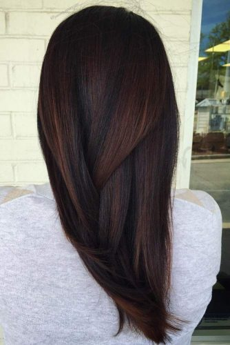 Chic Chocolate Hair Color