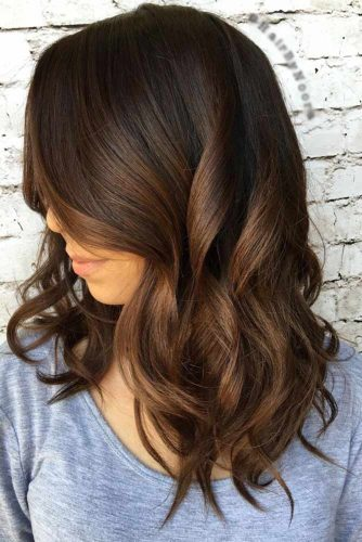 Bronze Brunette Hair Color