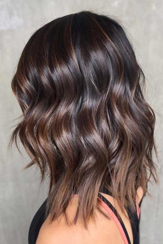 Soft and Shiny Brown Hair Color