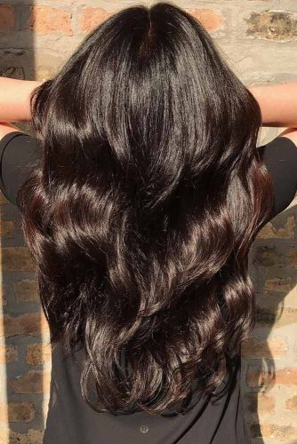 Dark Chocolate Hair Color
