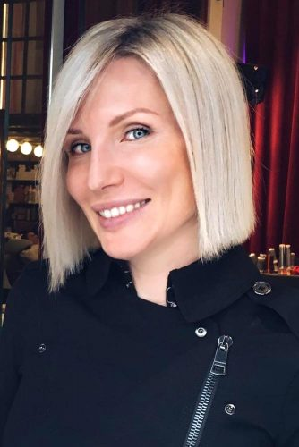 Natural Color for Bob Cut