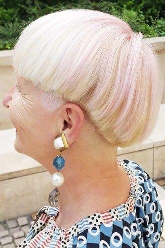 Funky Candy Pink Bob #blondehair #shorthair #bob