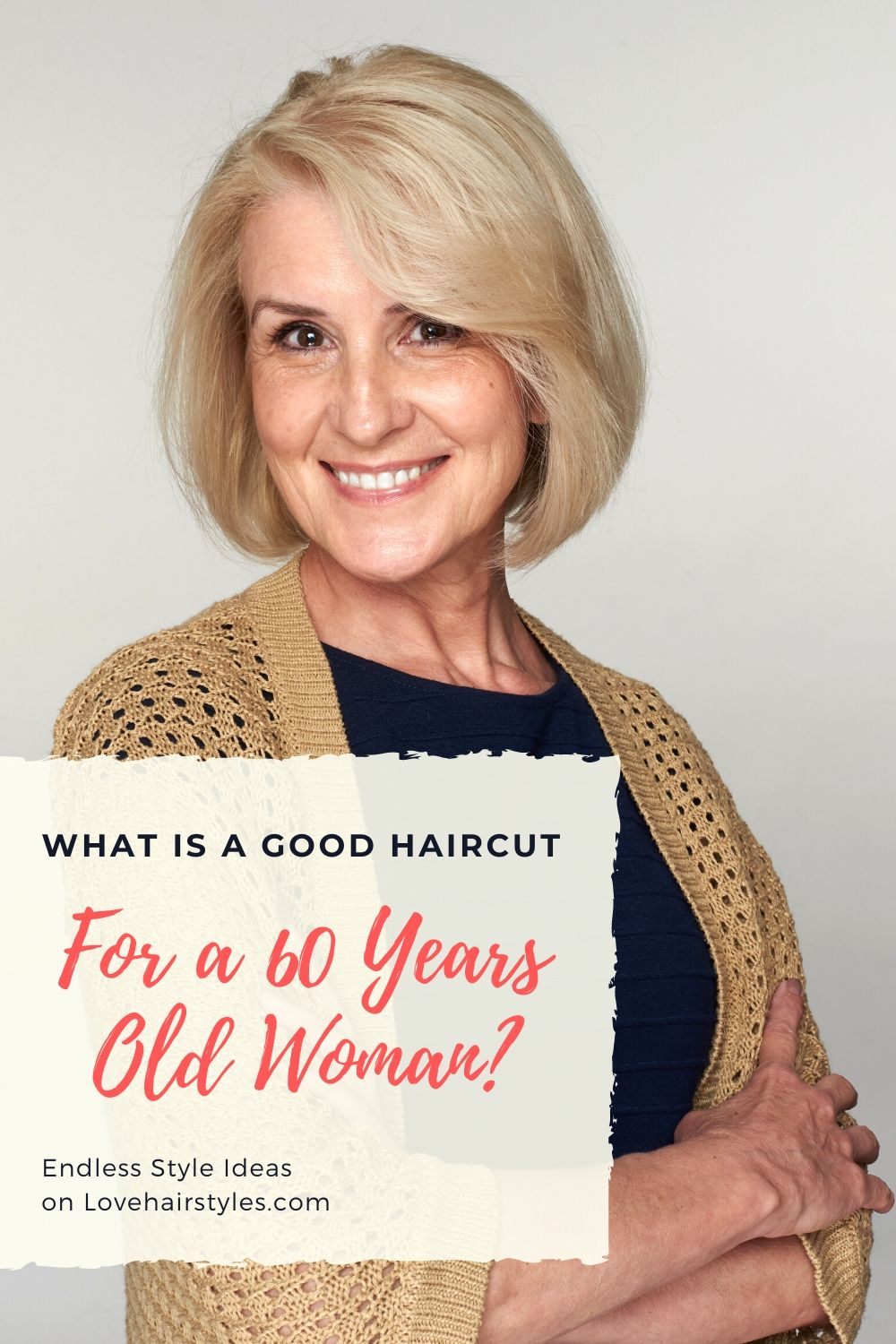 What is a Good Haircut for a 60 Years Old Woman?