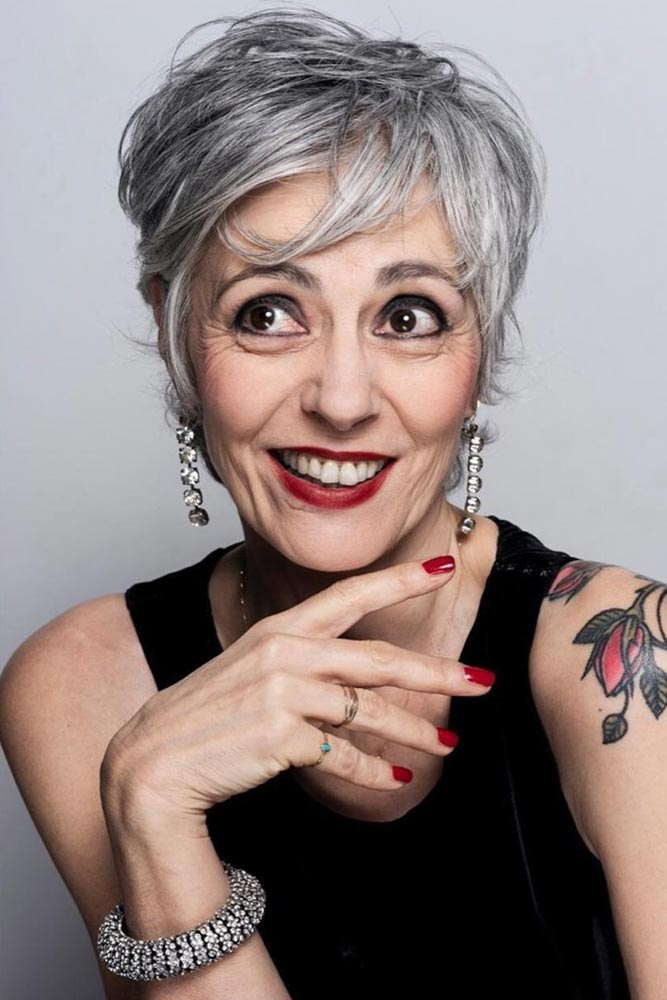 Hair Tips For Ladies Over 60 #pixie #shorthair