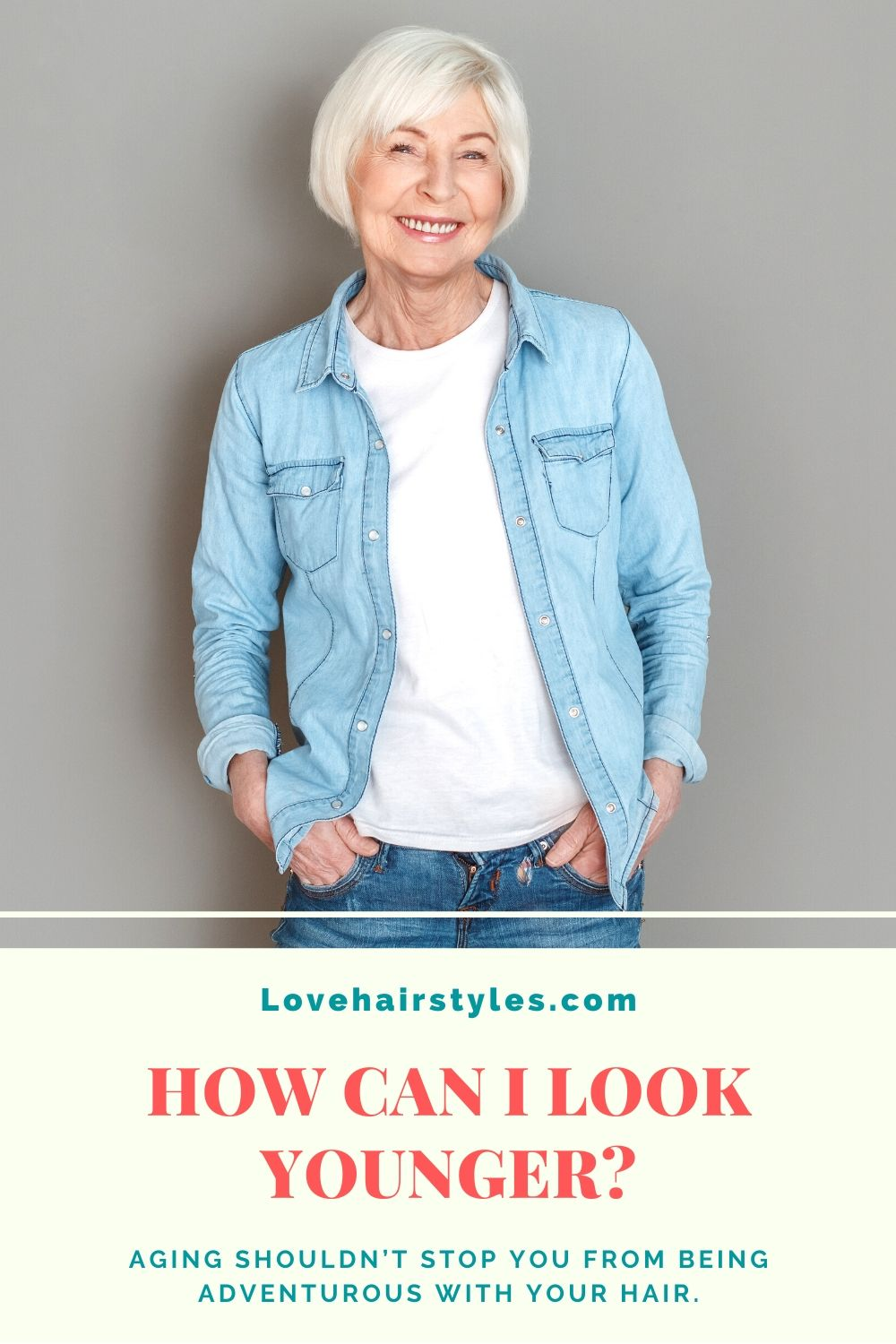 How to look younger at 60?
