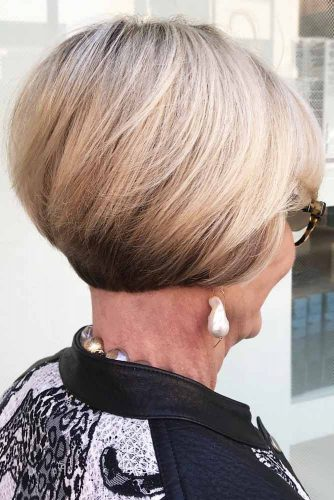 short haircuts for women over 60 with glasses 34 incredibly beautiful haircuts for 60 2505 | short haircuts for women over 60 straight bob 334x500