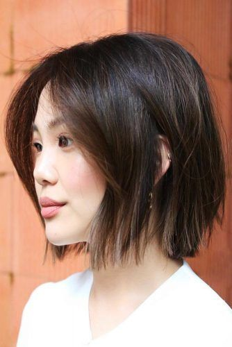 Blunt Bob Haircuts For Thin Hair Brown #bob #thinhair