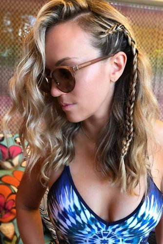 Braided Medium Hair Styles You Can Do in One Minute picture1