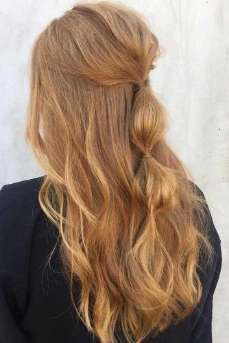 Busy Girl Life Hacks: Half Up Half Down Hairstyles picture2