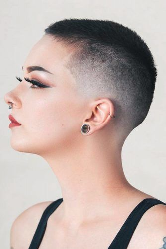 Faded Dark Buzz Cut #buzzcut #haircuts