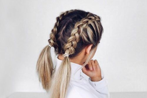 The Lazy Girls Guide 10 Easy Hairstyles For Medium Hair