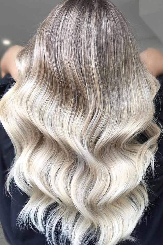 Icy Ash Blonde Balayage picture1