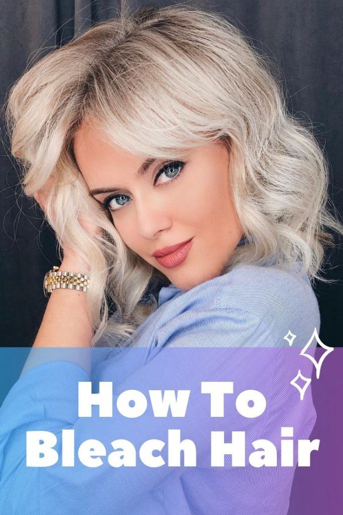 How To Bleach Hair #bleachedhair