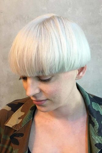 Modern Short Bowl Cut