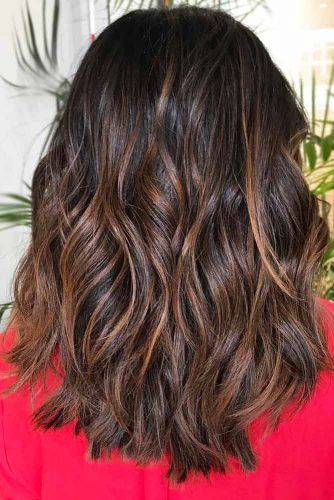 Reddish Brown Highlights #brunette #redhair #highlights