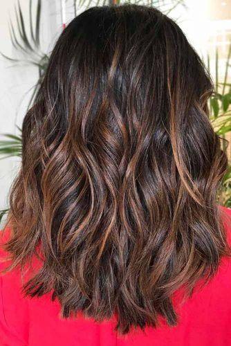 Reddish Brown Highlights #brunette #redhair #highlights