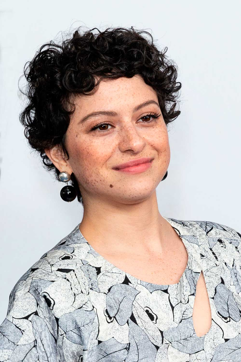 Pixie Haircut with Free Ringlets