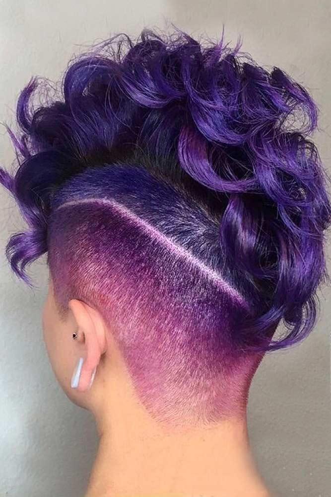 Undercut Violet Pixie