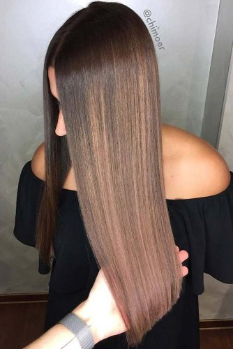 45 Suggestions For Dark Brown Hair Color Lovehairstyles,Most Organized Home Office