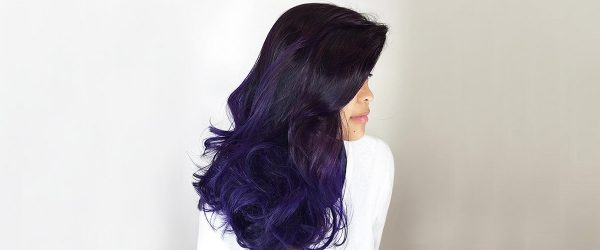 33 Bold and Provocative Dark Purple Hair Color Ideas