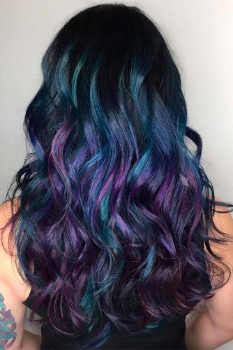 Blue Purple Balayage picture3