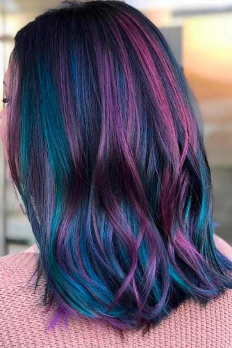Blue Purple Balayage picture1