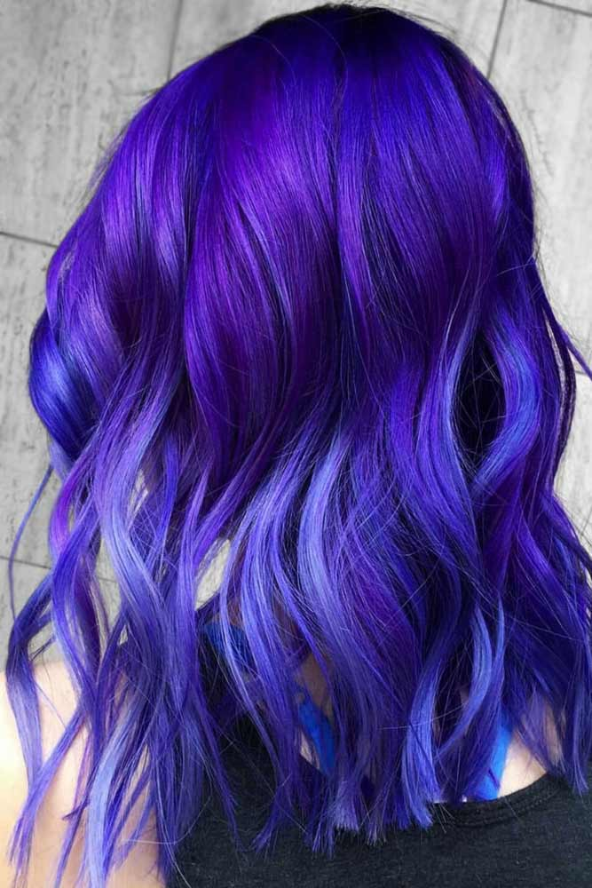 Electric Violet Black #purplehair