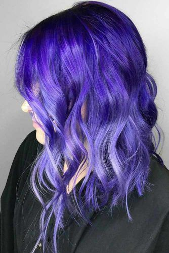 Electric Violet Icy #purplehair