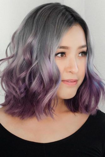 Amethyst Dark Purple Hair #purplehair #darkpurplehair